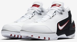0f13881225b Nike Air Zoom Generation retro QS First Game1 AJ4204 101 Lebron ...