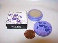 Womens Fragonard Perfume Solid Violette Fragrance Violet Rose Musk Raspberry