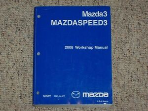 2008 mazda3 mazdaspeed3 workshop service repair manual i s sport image is loading 2008 mazda3 mazdaspeed3 workshop service repair manual i s swarovskicordoba Choice Image