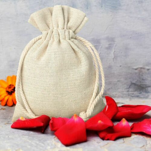 1 PCS Linen Bags 40 x 55 cm GIFT JEWELLERY WEDDING Bag Tote