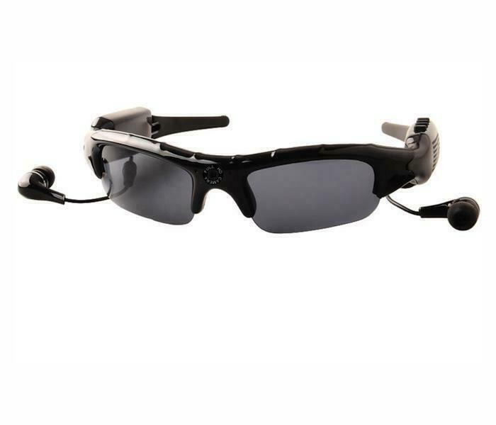 Bluetooth Sunglasses with Camera (With Battery) (Type 3) good for spying, or act