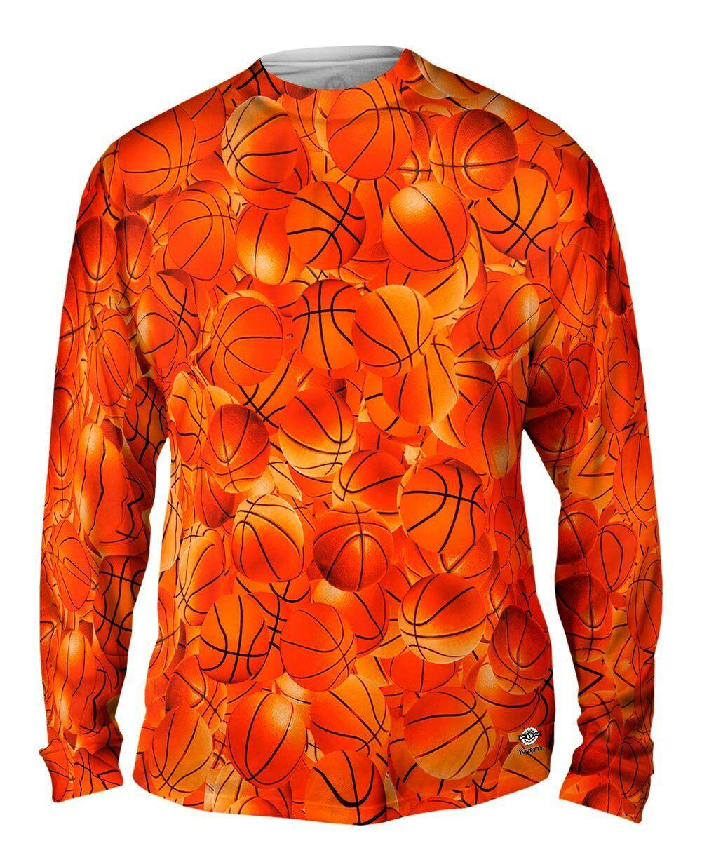 Yizzam- Basketball Pride - New Mens Long Sleeve Tee Shirt XS S M L XL 2XL 3XL 4