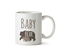 Baby Bear Mug Baby Shower Present New Baby Novelty Gift Ceramic Coffee Cup 10oz