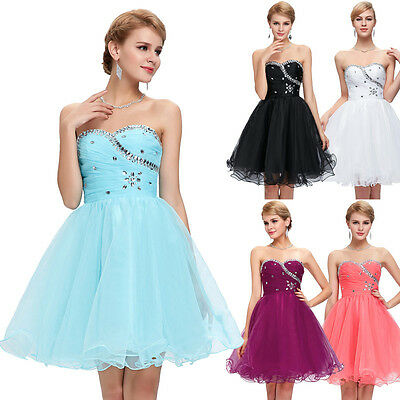 Homecoming Sexy Women Bridesmaid Evening Cocktail Dress Party Gown Ball Dresses