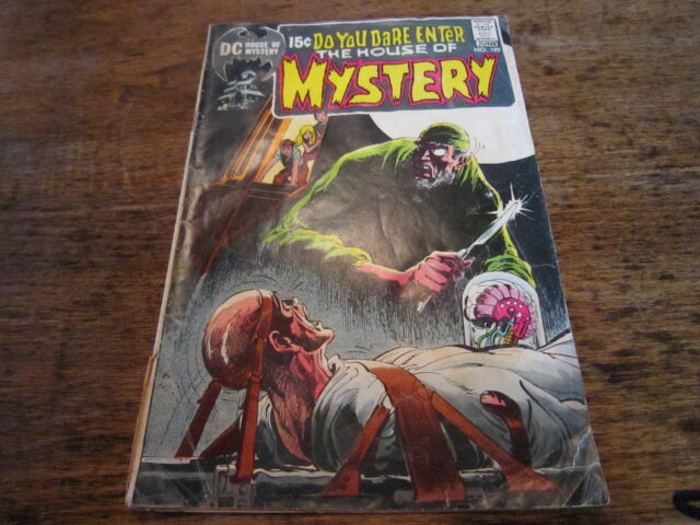 DC HOUSE OF MYSTERY Comics Dare You Enter Comic Book #192 June 1971 71! LOOK!