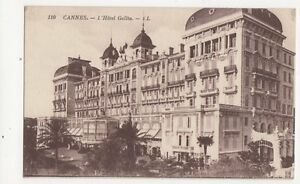 Cannes Hotel Gallia Vintage Postcard 205a - <span itemprop=availableAtOrFrom>Aberystwyth, United Kingdom</span> - I always try to provide a first class service to you, the customer. If you are not satisfied in any way, please let me know and the item can be returned for a full refund. Most purcha - Aberystwyth, United Kingdom