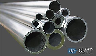 Aluminium Rundrohr AlMgSi05 /Ø 50x2mm L/änge 1900mm 190cm auf Zuschnitt