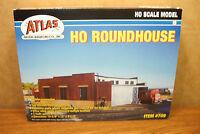Atlas Model Railroading 3-stall Roundhouse Ho Scale Building Kit