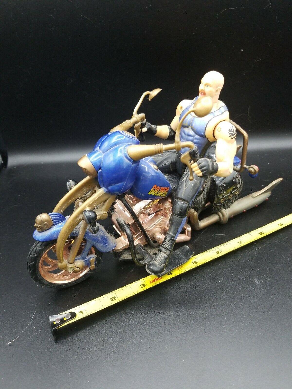 1999 Wcw goldberg Action Figure Motorcycle