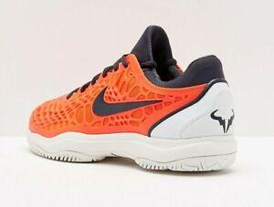 Dettagli su Nike Air Zoom Cage 3 HC Rafa Nadal Scarpe da tennis | UK 11 EU 46 | 918193 800 mostra il titolo originale