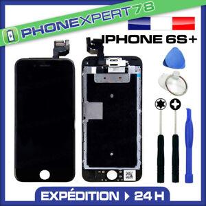 VITRE-TACTILE-ECRAN-LCD-RETINA-COMPLET-SUR-CHASSIS-IPHONE-6S-PLUS-NOIR-OUTILS