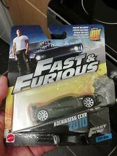 2010 Koenigsegg CCXR Grey 17//32 Mattel Fast /& Furious Fast Five FF019 TPN/_5