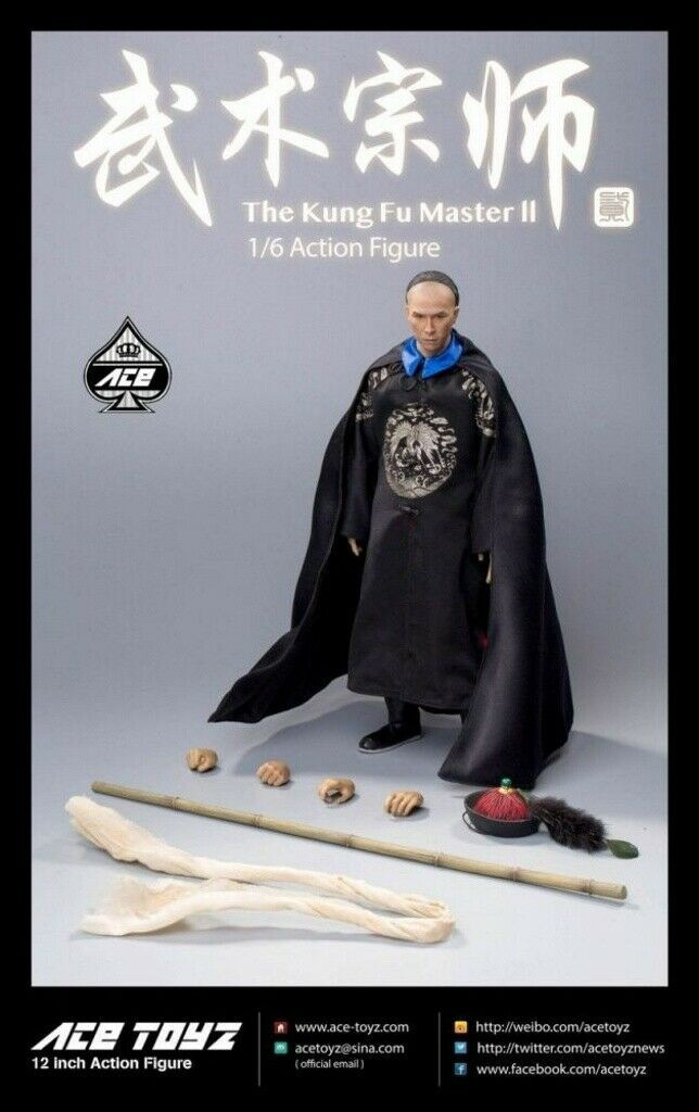 ACE TOYZ 1 6 Martial Arts Master 2 (AT-008) Action Figure Gift Toy Full Box Doll