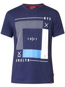 Duke Mens Big 2xl 6xl Stripe ks60229 4xl Nyc shirt T Stampa 3xl 5xl D555 Navy fxdwnf