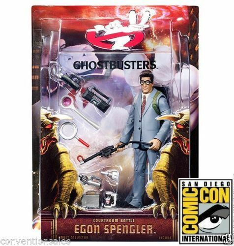 SDCC 2015 EXCLUSIVE MATTEL GHOSTBUSTERS COURTROOM BATTLE EGON SPENGLER FIGURE