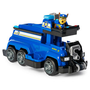 PAW-PATROL-Total-Team-Rescue-Chase-039-s-Team-Police-Cruiser-with-6-Action-Figures