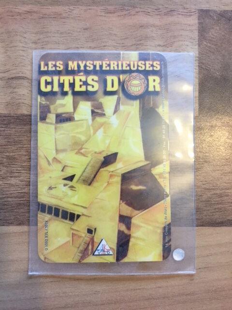 CARTE TÉLÉPHONIQUE     LES MYSTÉRIEUSES CITES DOR   -NEUF NEW   RARE-