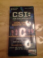 CSI Crime Game and Booster Pack 1 Brand New Shrinkwrapped 895193047433 Item 4743