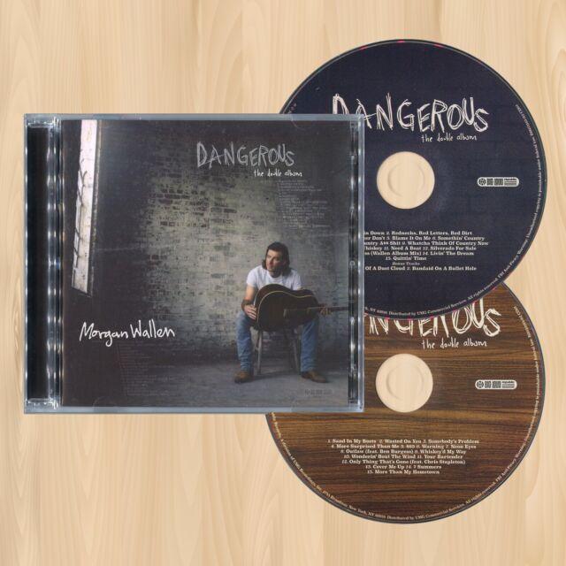 +2 BONUS TRACKS----> MORGAN WALLEN Dangerous: The Double Album EXCLUSIVE CD 0324