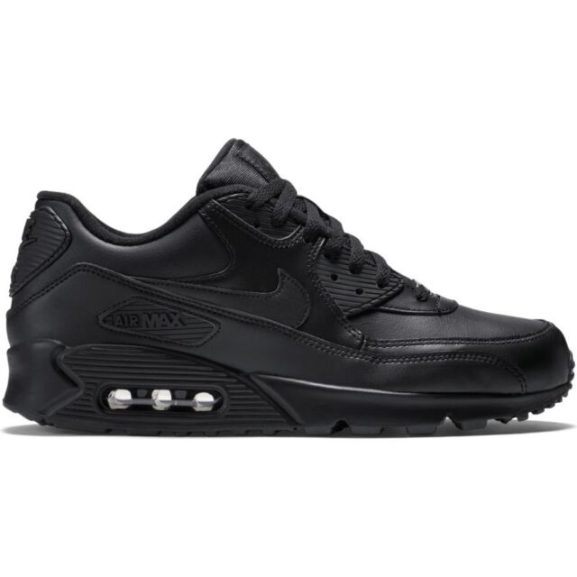 Nike Air Max 90 Leather Mens Style 302519 Color 001 7.5