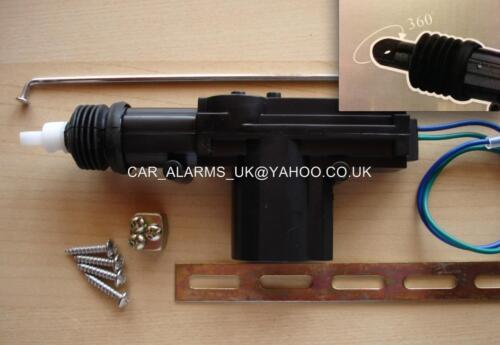 Universal 2 Wire Solenoid Motor DOOR Lock CENTRAL LOCKING Slave Pop Boot Popper