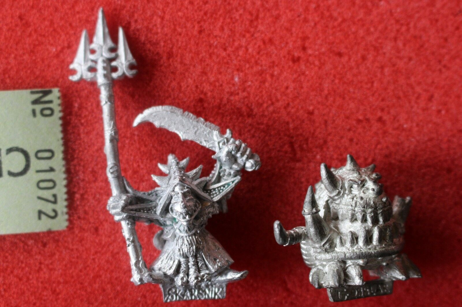 Games Workshop Warhammer Skarsnik and Gobbla Goblin Squig OOP Metal Orcs GW H3