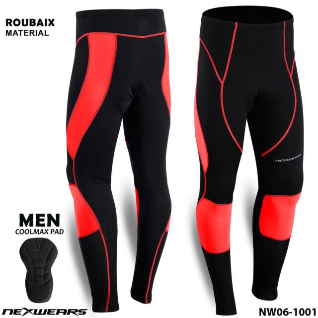 New Mavic Men/'s Aksium Thermo Tights Cycling Pants Bike XL Black Winter Padded