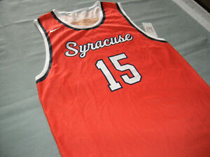 Details About Syracuse Basketball Jersey Adult Large New