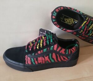 3e94f2da94 Details about VANS Old Skool X a Tribe Called QUEST Limited Edition Shoes  Black Red
