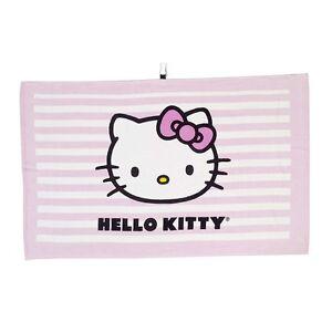 New Hello Kitty Tour Towel Pink Ebay