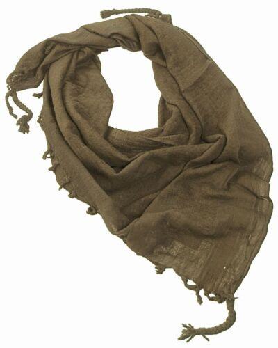 Shemagh OLIVE scarf OLP foulard palästineser Chiffon armée Shemag KSK ISAF