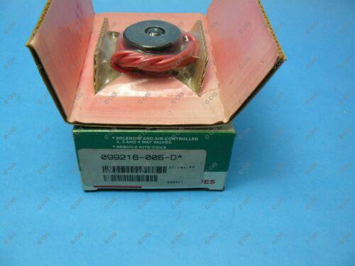 Asco 099216-005-D Replacement Solenoid Valve Coil 120VAC 8320B135 New