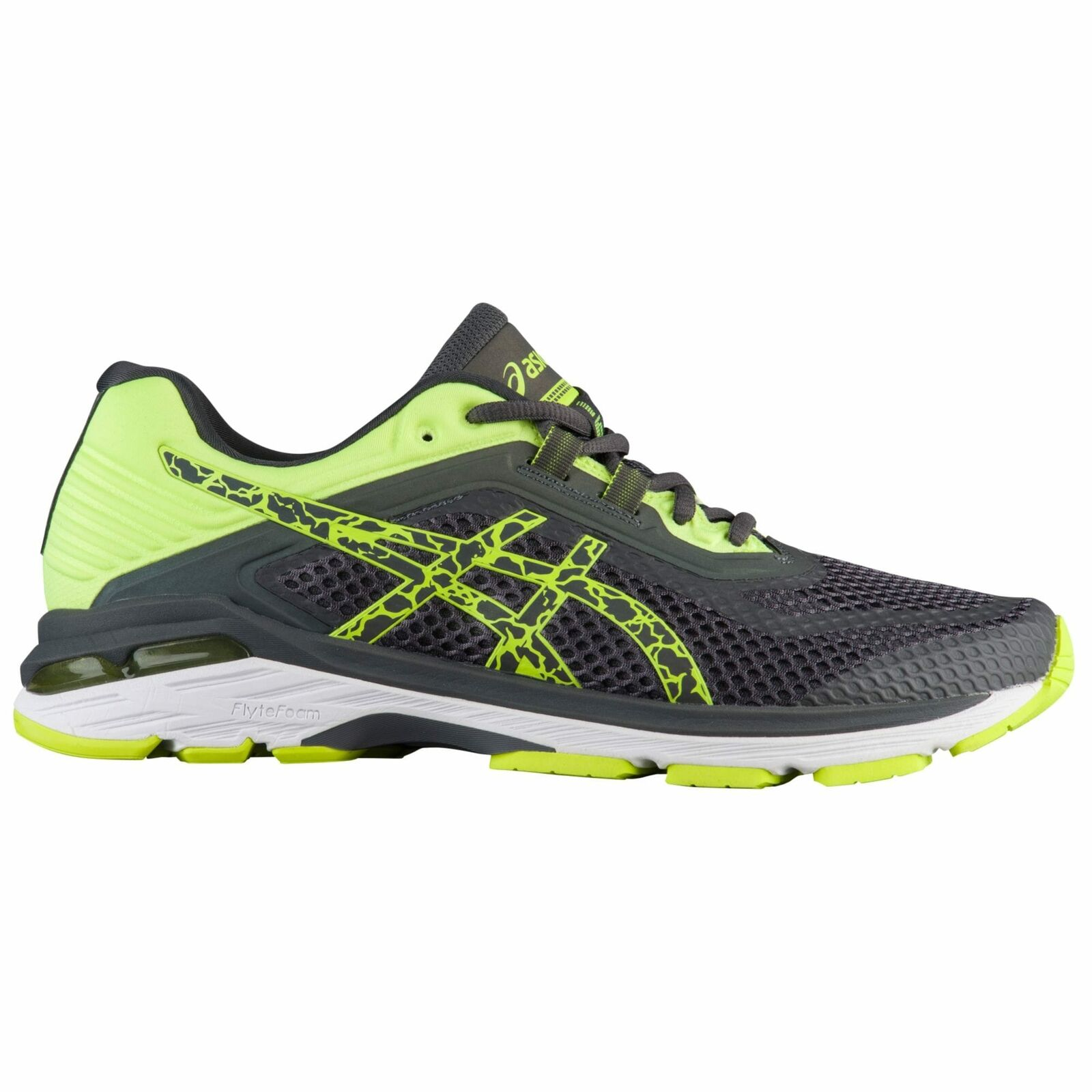 ASICS GT-2000 V6 Lite Show Men's Dark Grey Safety Yellow 8349595