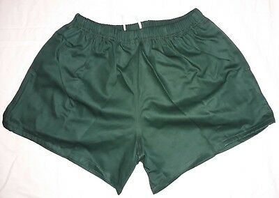 """Traditional Quality 100/% Cotton Rugby Sports Shorts Maroon Burgundy 32/""""-48/"""" NEW"""