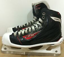 CCM RBZ Mens Pro Stock Hockey Goalie Skates Size 9 D 5567