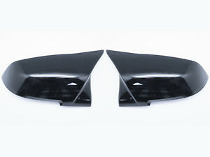 For-BMW-F22-F30-F32-F36-F87-M-Style-Mirror-Cap-Cover-Replacement-Gloss-Black