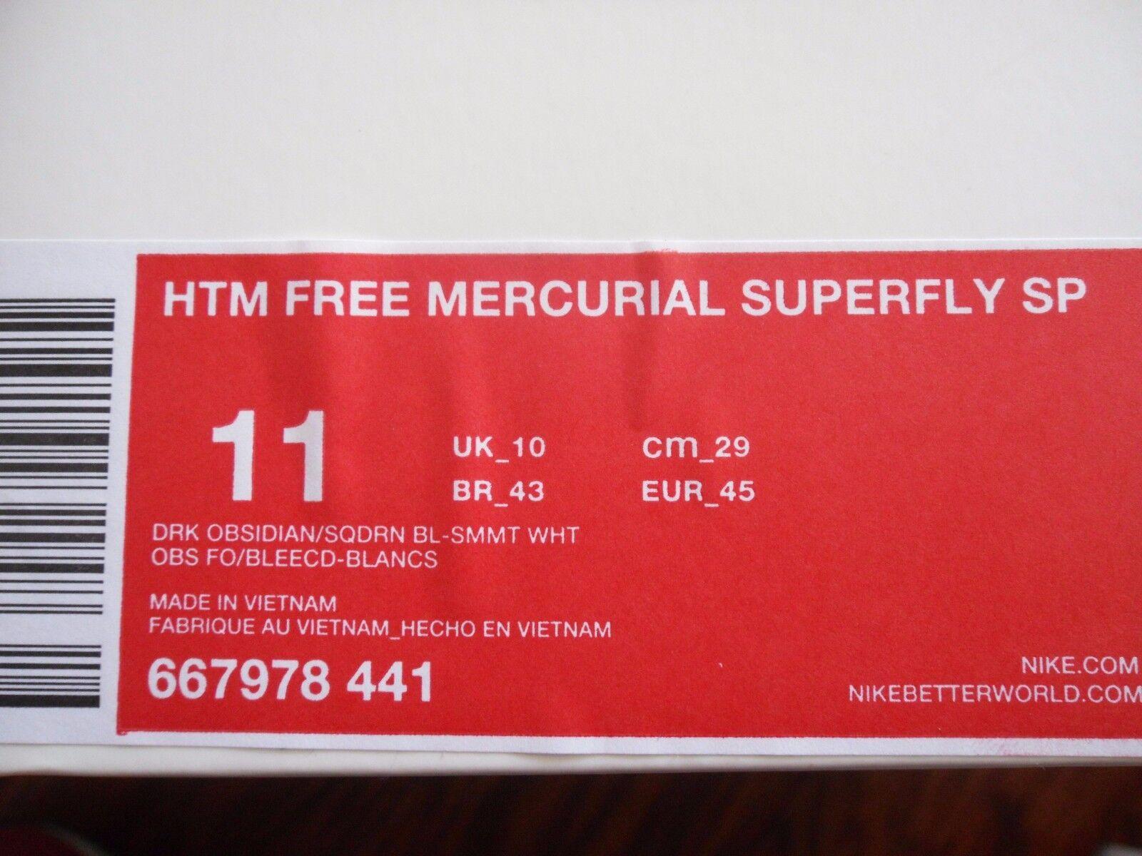 NIKE FREE MERCURIAL SUPERFLY SP DARK OBSIDIAN NAVY BLUE SZ SZ SZ 11 [667978-441] caf27f