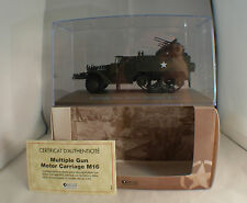 Ed. Atlas Multiple Gun Motor Carriage M16 US Army 1/43 MIB avec fascicule