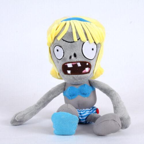 30cm Plants vs Zombies PVZ Figures Plush Baby Staff Toy Stuffed Soft Dolls Gift