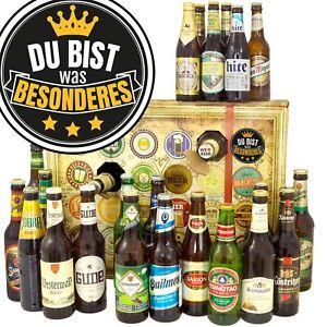DU BIST WAS BESONDERES - Bierbox mit 24 Bieren weltweit 24BBG-Beson