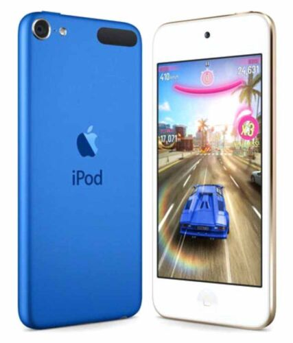 Unused Apple iPod Touch 6th Generation 128GB Gold//Gray//Silver//Blue A8 8MP Cam