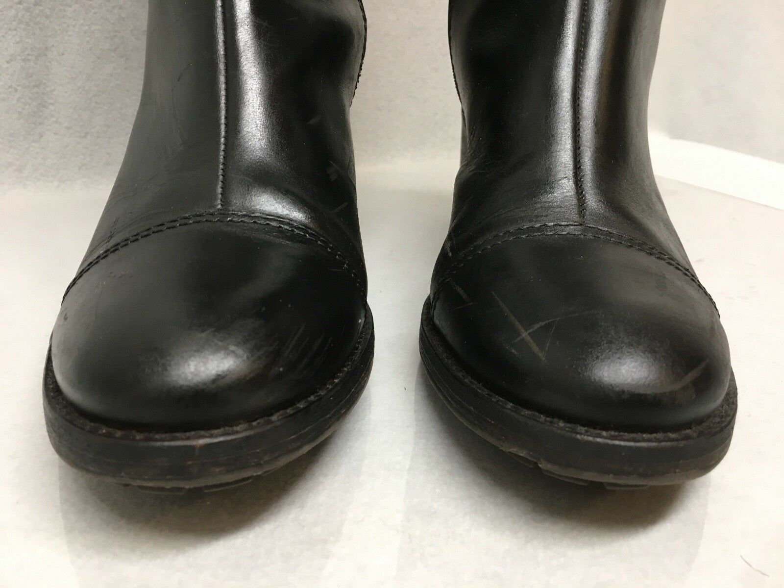 Hunter Tall Black Leather Riding Riding Riding Boots 10m 88f359