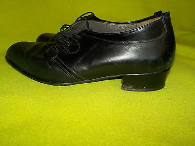 Elegante Schnürer in Gr. 8 K in schwarz SOUDUS top Schuhe