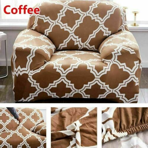 Sofabezug Printed Muster Stretch Sofahusse Elastisch Sesselhusse Couch überzug