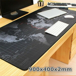 Large-Size-900-400-2MM-World-Map-Speed-Game-Mouse-Pad-Mat-Laptop-GamingMousepadE