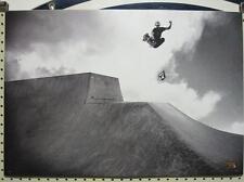 VOLCOM surf skateboard 2008 AARON SUSKI B&W POSTER ~MINT CONDITION~!