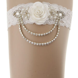 Women-Lace-Wedding-Garters-for-Bride-Prom-Garter-with-Crystal-Chain