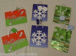 Best Buy Jeanmarie Mini Christmas Gift Bags 5 3/4in x 4 1/2in x 2in ...