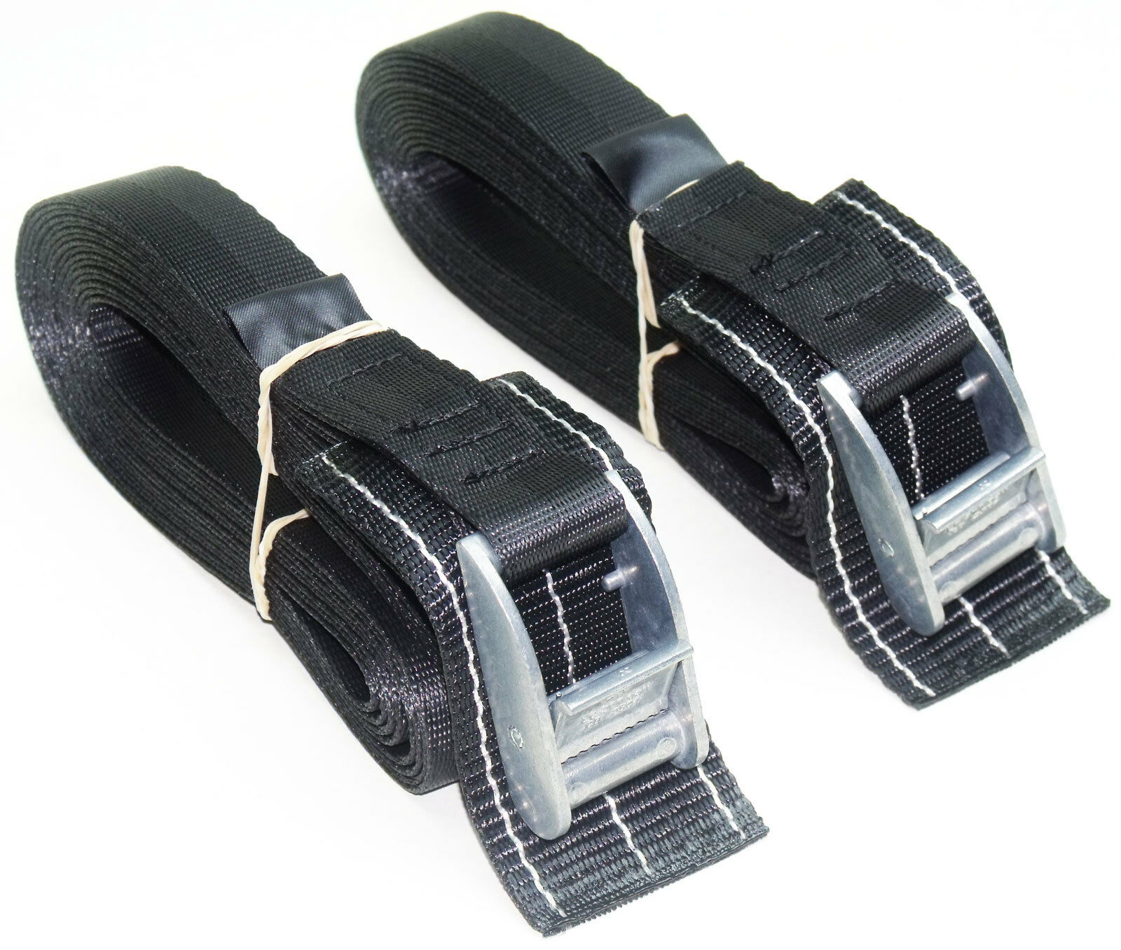 Lashing Strap Cargo Trailer 4-pack of 5.0m TOUGH PADDED Cam Buckle Straps Blue