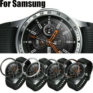 For-Samsung-Galaxy-Watch-46MM-Bezel-Ring-Adhesive-Cover-Anti-Scratch-Metal-Case